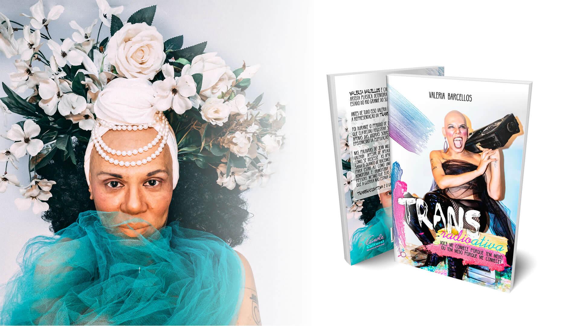 Valéria Barcellos se Torna a 1ª Mulher Trans a Narrar um Audiobook